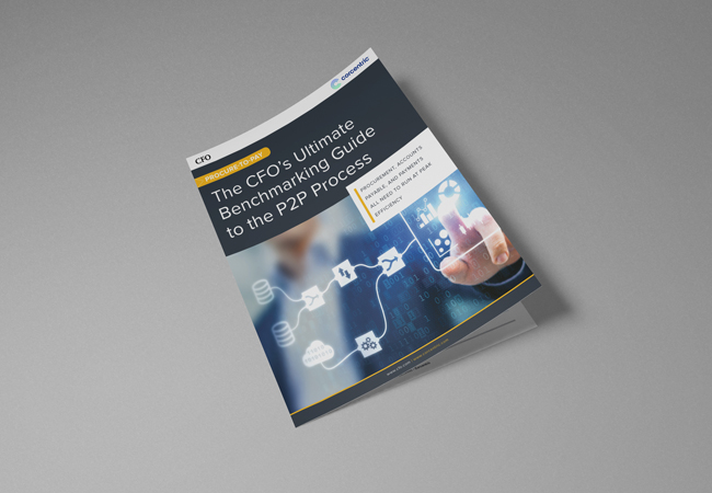 The CFO's Ultimate Benchmarking Guide to the P2P Process by CFO.com