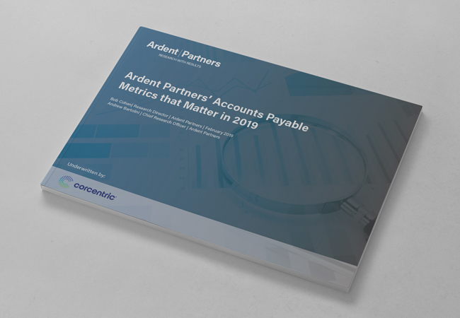 Ardent Partners' Accounts Payable Metrics that Matter in 2019
