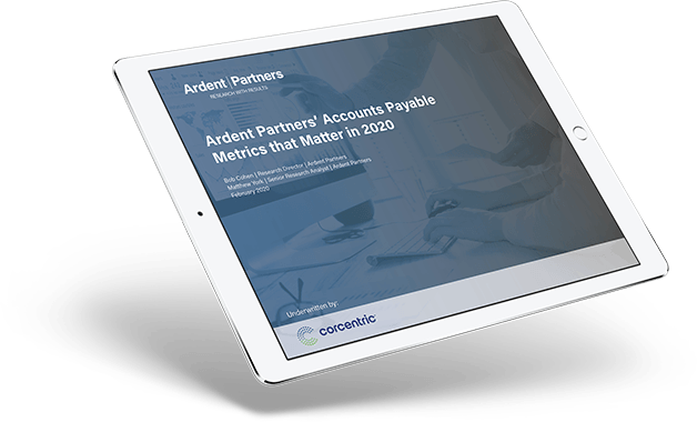 Ardent Partners: Accounts Payables Metrics 2020