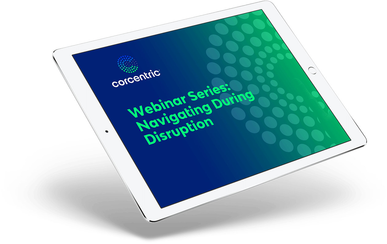 Webinar Series: Navigating During Disruption