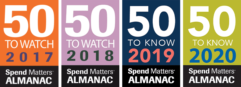 Spend Matters Almanac: 50 to Watch & Know- 2017-2020