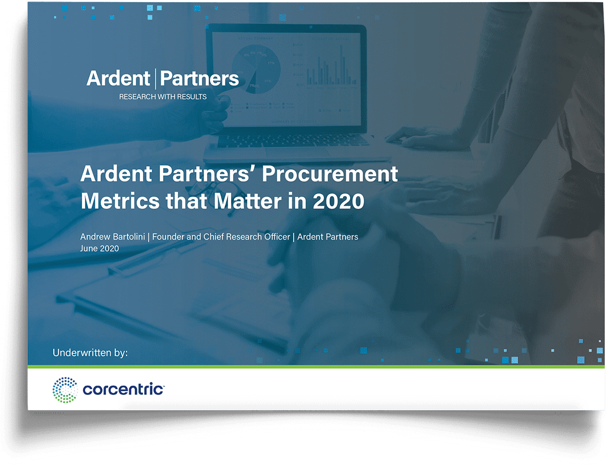corcentric-report-procurement-metrics-that-matter-in-2020-from-ardent-partners