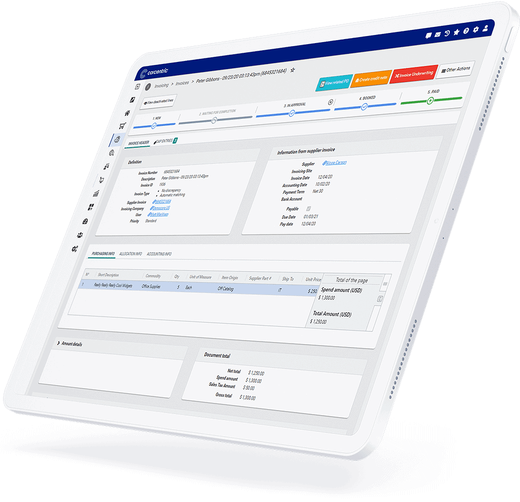 invoice management payments