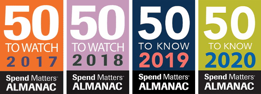 Spend Matters 50 to Know 2017-2020