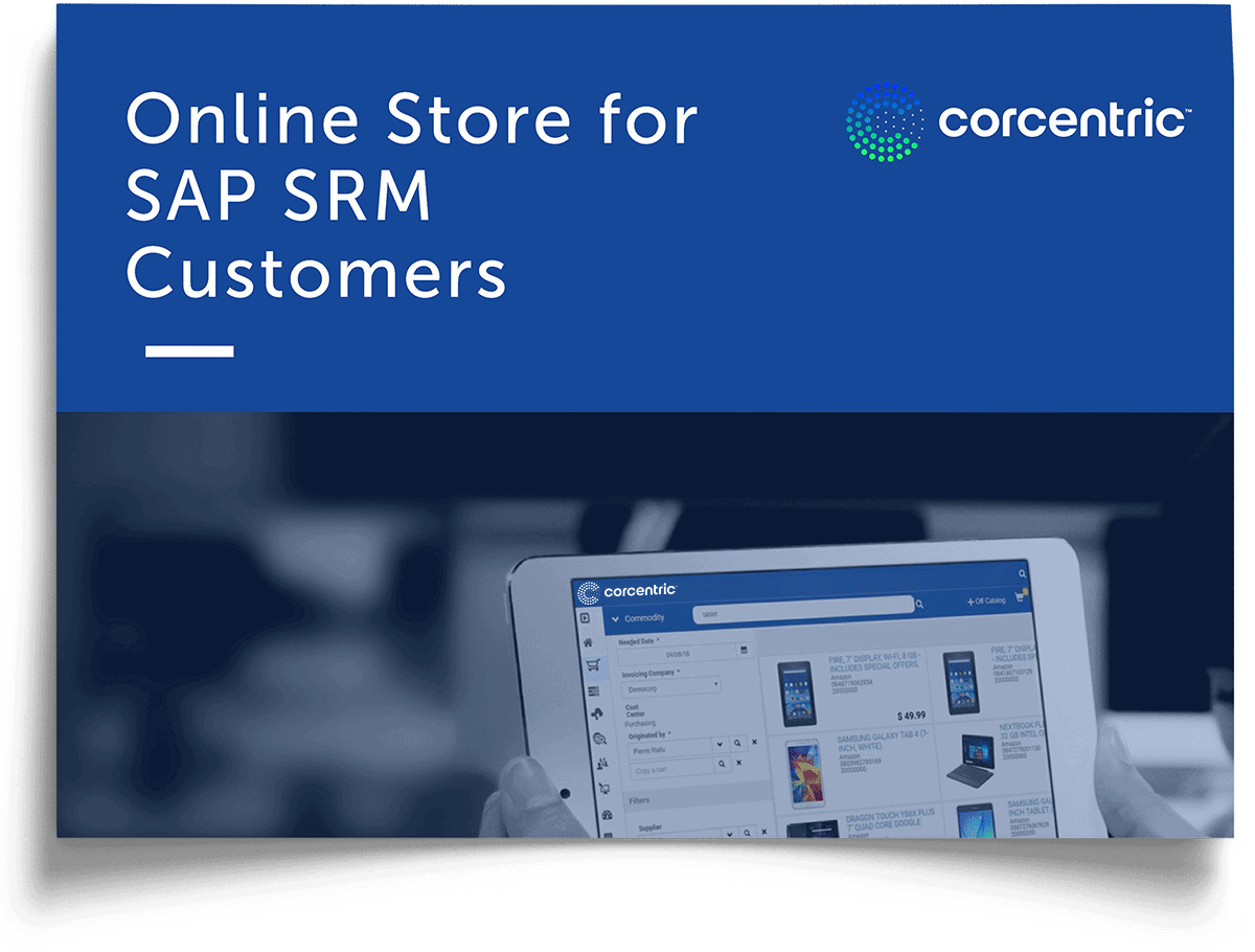 Corcentric White Paper: Online Store for SAP SRM Customers